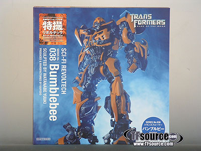 Revoltech - Sci-Fi #038 - Transformers DOTM Bumblebee