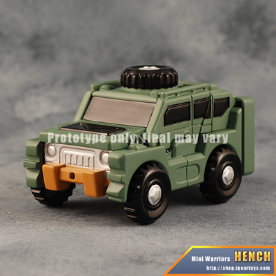 iGear - MW-03 Mini Warrior - Hench