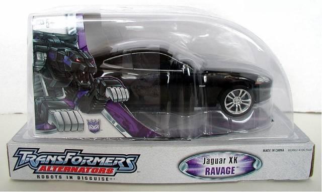Alternators Battle Ravage - Jaguar XK - Walmart Exclusive - MIB - 100% Complete
