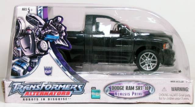 Alternators - Nemesis Prime - SDCC - Dodge Ram SRT-10 - MIB