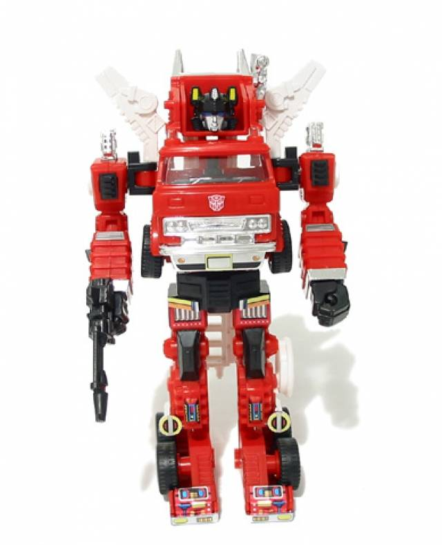 Reissue - Transformers Collection - TFC #8 Inferno - MIB - 100% Complete