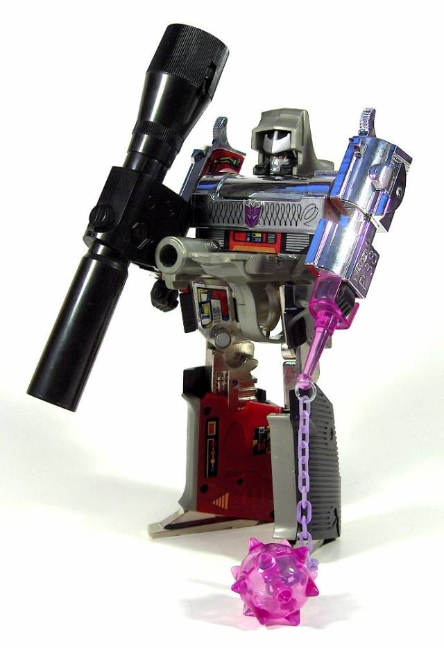 Reissue - Transformers Collection - TFC #6 Megatron - MIB - 100% Complete