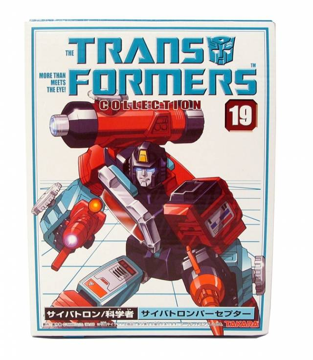 Reissue - Transformers Collection - TFC #19 Perceptor - MIB - 100% Complete