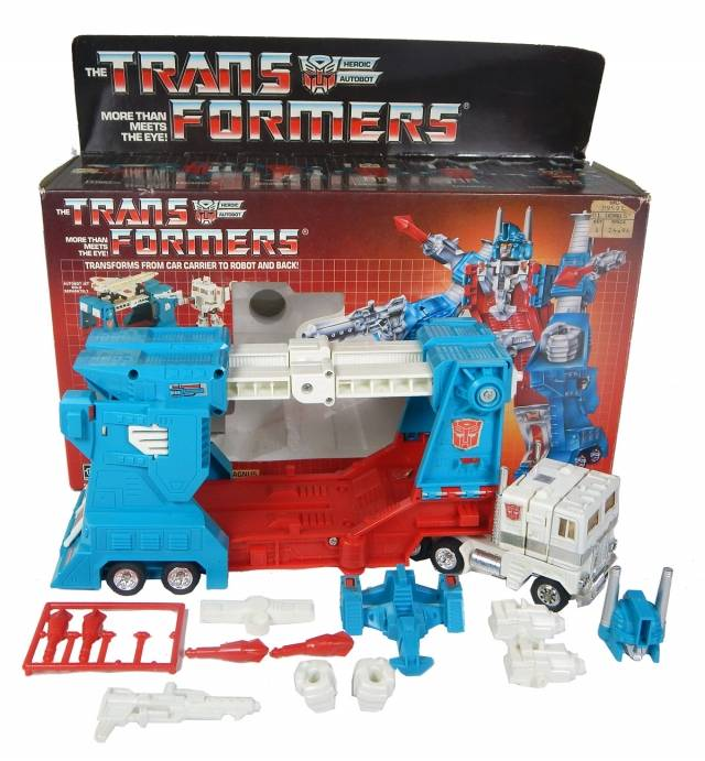 Transformers G1 - Boxed - Ultra Magnus - MIB - 100% Complete