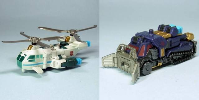Transformers United - EX Roller Master vs. Chopper Master