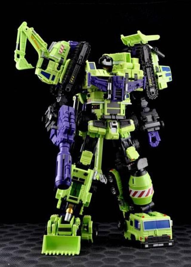 Make Toys - Green Giant - Type 61 - Set of 6 Pieces