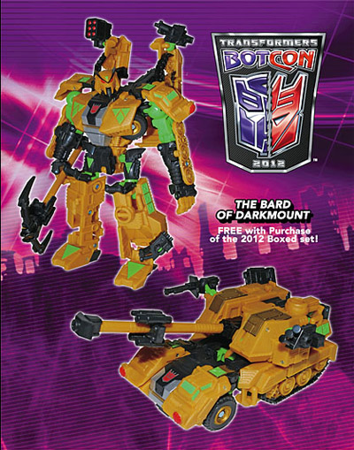 Botcon 2012 - Shattered Glass - Straxus Bard of Darkmount