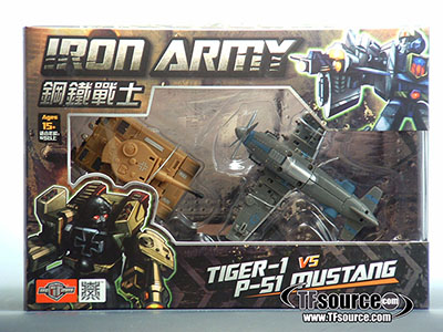 TFC Toys - Iron Army - Set A - Tiger-1 & P-51 Mustang