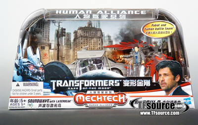 DOTM - Human Alliance - Asia Version - Soundwave