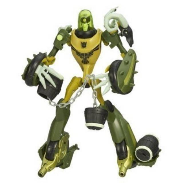 Transformers - Animated - Deluxe - Oil Slick - Loose - 100% Complete