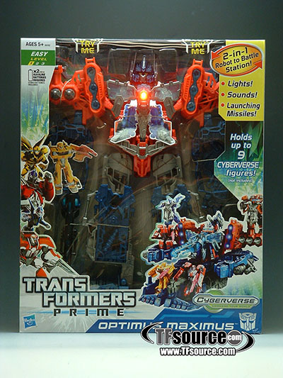 Transformers Prime - Cyberverse Maximus