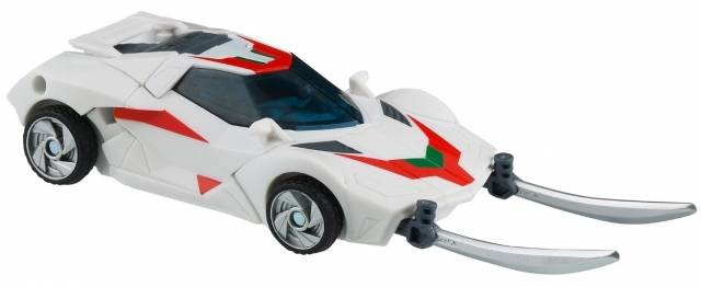 Transformers Prime Deluxe Series 01 - Robots in Disguise - Wheeljack - Loose - 100% Complete