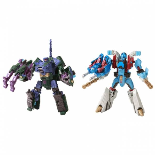 Transformers United - EXP 03 Tank Master vs. Marine Master