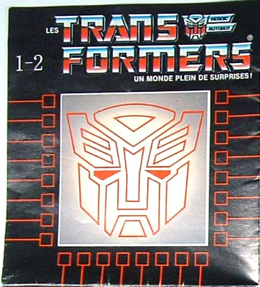 Catalog - 1986 Transformers - 3rd Series - French