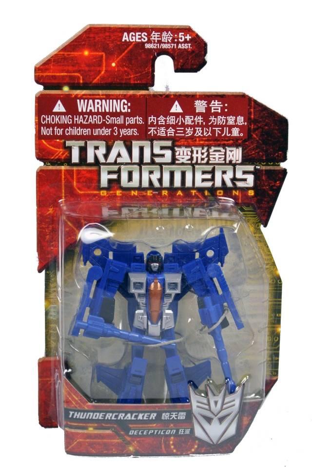 Transformers 2012 - GDO Legions Thundercracker - MOSC