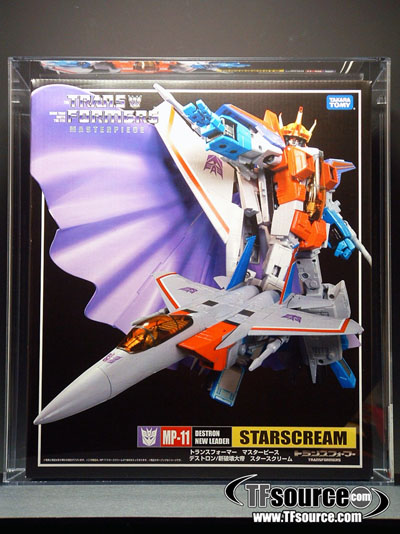 MP-11 - Masterpiece Starscream - Coronation Set - AFA U90