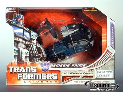 Classics SDCC 2008 Nemesis Prime