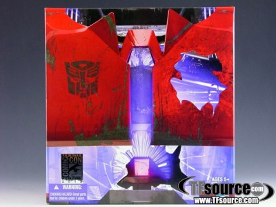 SDCC 2012 Exclusive - Transformers Prime - Rust In Peace Cliffjumper - MISB