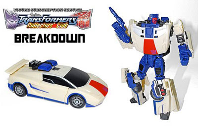 TFCC 2013 Subscription Exclusive - Breakdown