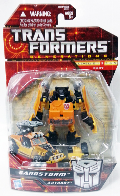 Transformers 2012 - GDO Scouts - Sandstorm