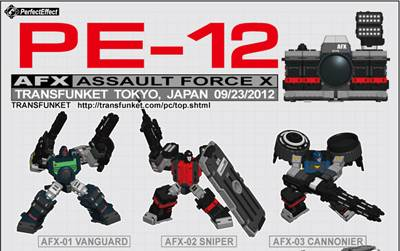 PE-12 - Perfect Effect - AFX Assault Force X - Camera Set