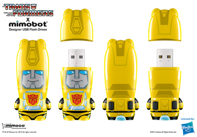 Mimobots - Bumblebee - USB Flash Drive - 8GB