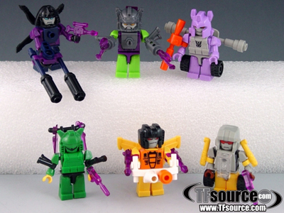 KRE-O - Transformers - KREON Mini Figures Series 01 - Set of 6 Figures