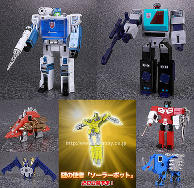 e-hobby - Shattered Glass - Soundwave vs. Blaster Giftset with Cassettes