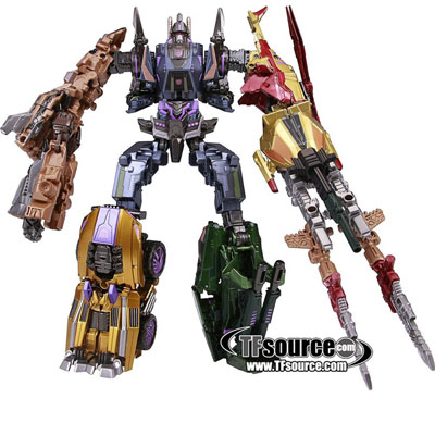 Transformers Generations Japan - Fall of Cybertron - Bruticus Set of 5