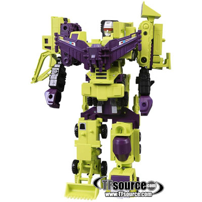 Encore #20A - Constructicons Devastator - Anime Color Version