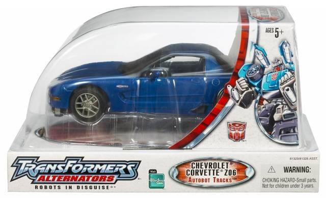 Alternators - Autobot Tracks - Chevrolet Corvette C5 Z06 - MIB - 100% Complete