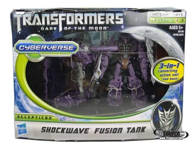 DOTM - Cyberverse Action Set - Shockwave / Fusion Tank - MISB