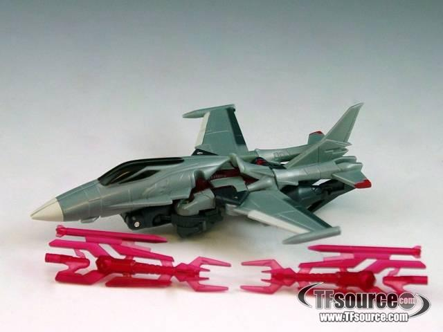 Transformers Prime - Cyberverse Commander  - Starscream - Loose - 100% Complete