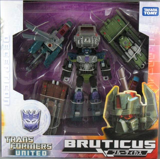 Transformers United Bruticus Maximus - Asia Exclusive Limited Edition - G1 Color Edition
