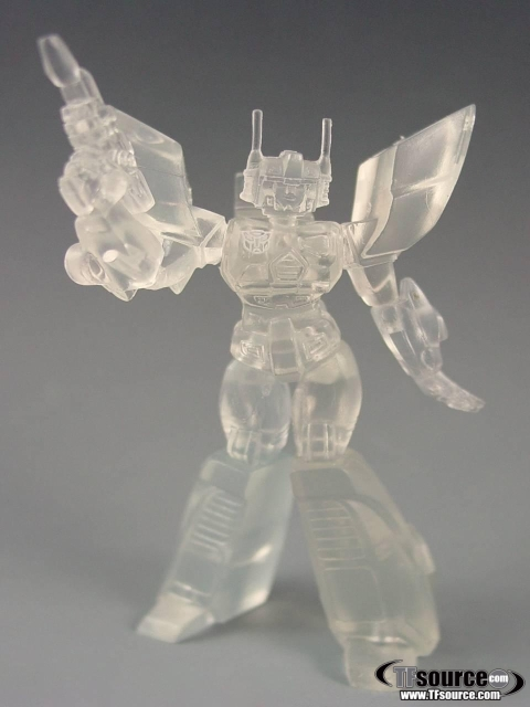 Super Collection Figure - Minerva - Clear Plastic Version - Loose - 100% Complete