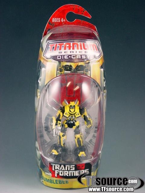 Titanium - Movie  Bumblebee - MOSC