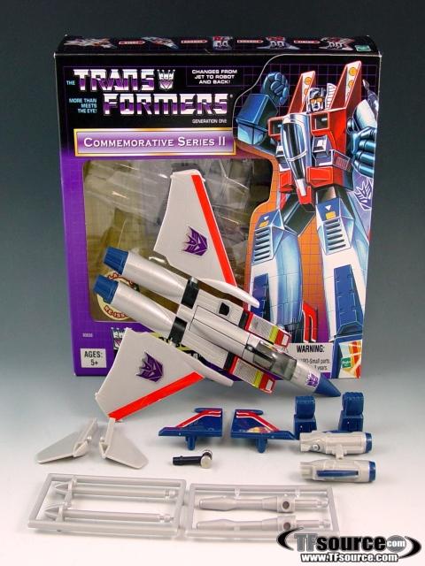 Reissue Commemorative Series - Starscream  - MIB - 100% Complete