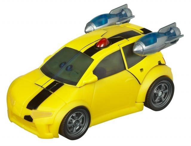 Transformers Animated - Deluxe Class - Bumblebee - Loose - 100% Complete