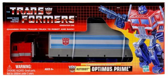 Reissue - Commemorative Series - Optimus Prime