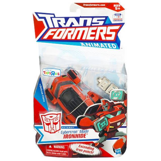 Transformers - Animated - Cybertron Mode Ironhide - MOSC