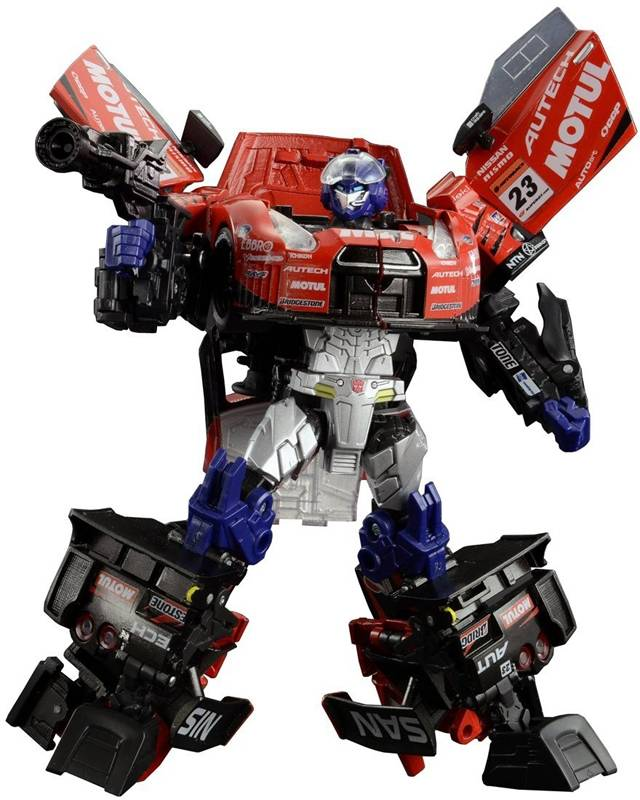 Transformers GT - Super GT - GTR-01 Optimus Prime