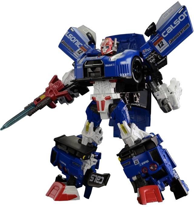 Transformers GT - Super GT - GTR-02 Saber