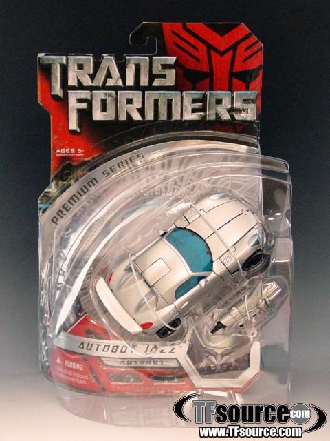 TFTM - Deluxe Class Premium Series - Autobot Jazz - MOC - 100% Complete