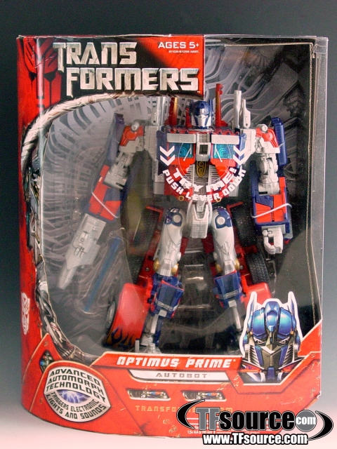 Transformers the Movie - Leader Class - Optimus Prime - MISB