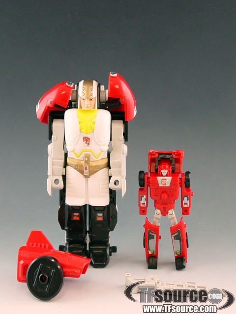 Transformers G1  - Vroom - Loose - Missing Small Laser