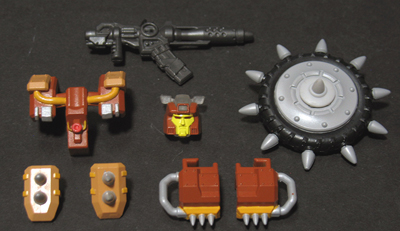 Lucky Rogers - JK-01W Warrior - Junkion - Add on Set