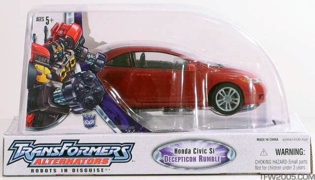 Alternators - Decepticon Rumble - MIB - 100% Complete