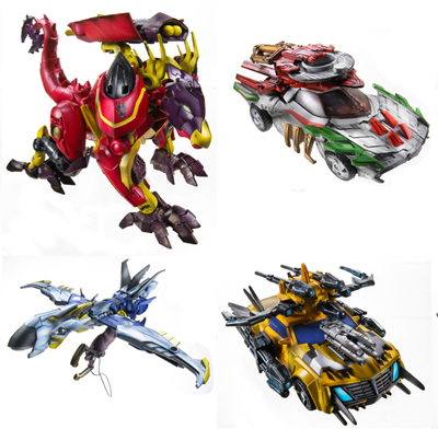 Beast Hunters - Transformers Prime - Deluxe Wave 01 - Set of 4 Figures
