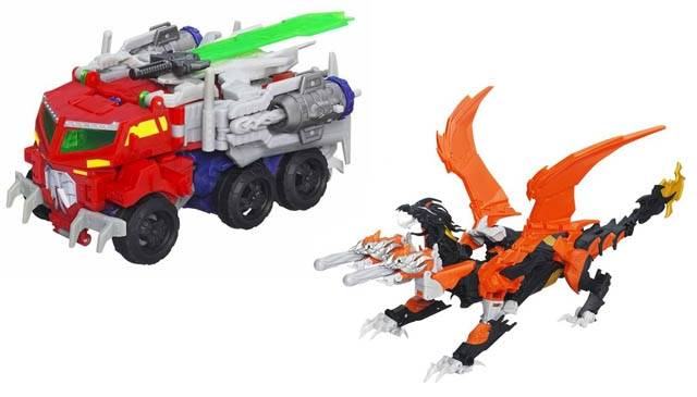 Beast Hunters - Transformers Prime - Voyager Wave 01 - Set of 2 Figures