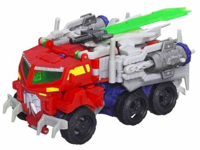 Beast Hunters - Transformers Prime - Voyager Wave 01 - Beast Optimus Prime